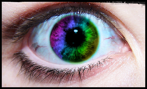 My eye photoshopped