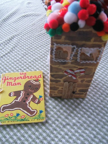 Gingerbread Village House