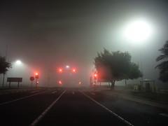 Love street aka   (radiant guy) Tags: street light fog night mood moody dramatic atmosphere steam kuwait atmospheric panasonicfx01