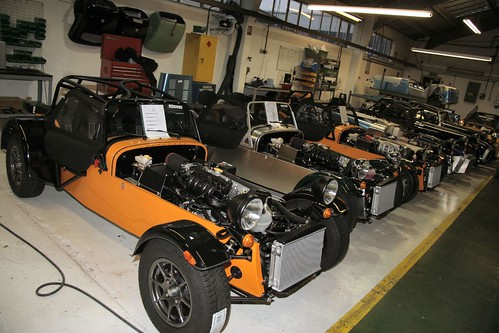 Caterham factory visit