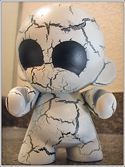 Mummy Munny #1 - no bandages (kriegs) Tags: kidrobot mummy vinyltoy munny customvinyl