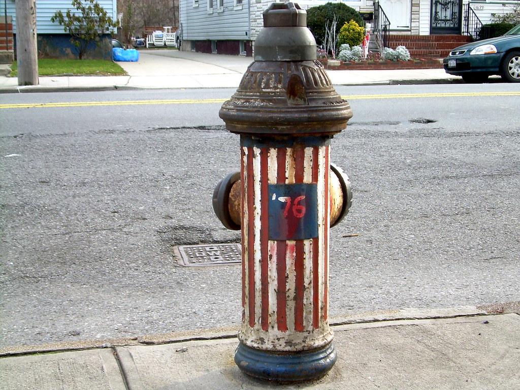 bicentennial hydrant, east flatbush
