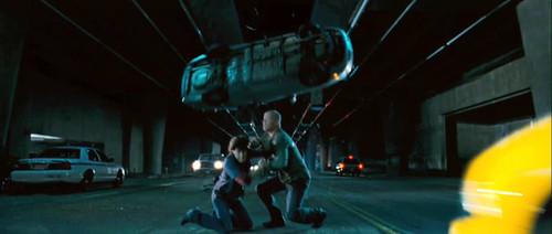 Bruce Willis y Justin Long