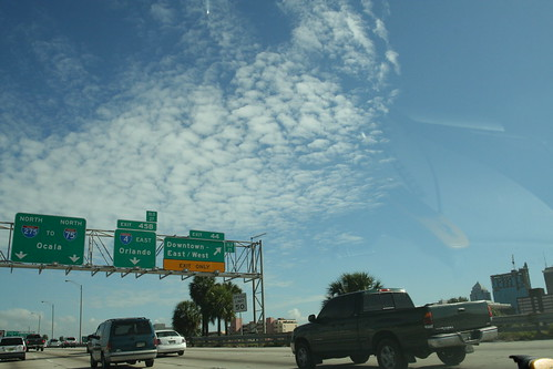 Exit to Downtown Tampa on I-275 northbound