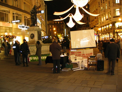 Fur Protesters in Vienna