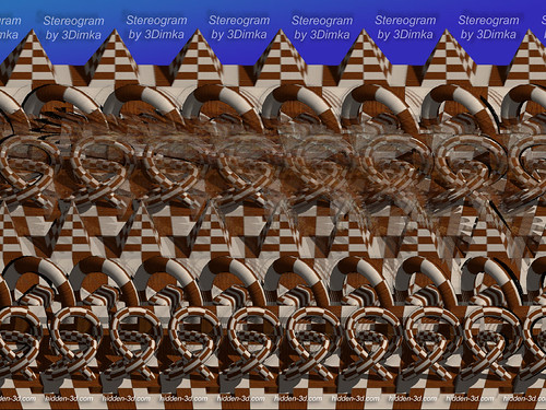 Right! Stereogram two images nude are not