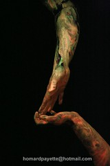 hands vasenight contact (homardpayette) Tags: original people beautiful wonderful painting hands compo symbiose homardpayette domshine photobreakdance photographebreakdance photographerbreakdance