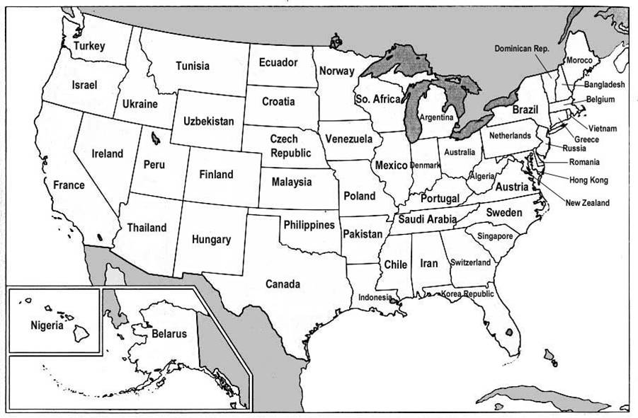 US States Renamed For Countries With Similar GDPs Big Think - Usa map states