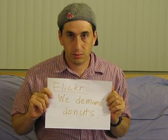 Flickr: We demand donuts