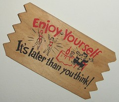 Enjoy Yourself (Cowtools) Tags: party kitsch illo treasures estatesale winewomensong