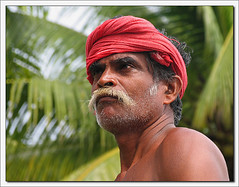 Fort Kochin, fierezza (**luisa**) Tags: portrait india man kerala indians fortkochin