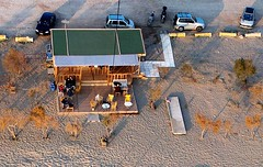 KAP for dummies (YiorgosT) Tags: beach cafe athens greece kap kiteaerialphotography attica kalivia