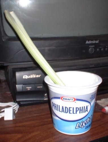 celery & cream cheese
