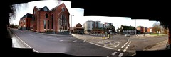 docklands interactive panorama (Simon_K) Tags: panorama church collage suffolk churches interactive ipswich eastanglia lochfyne dukestreet stclements forestreet suffolkcollege neptunequay grimwadememorialhall forehamlet orwellquay backhamlet coprolitestreet wwwsuffolkchurchescouk