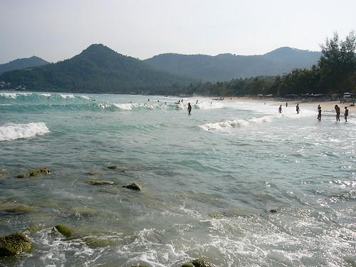 サムイ島‐Chaweng Noi beach 17th Jan.07