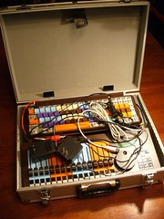 rig in the travel case