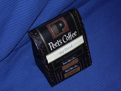 Peet's Coffee - complimentary 1/4 pound bean!