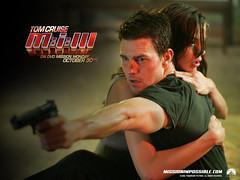 Poster ter promotie van Mission Impossible III