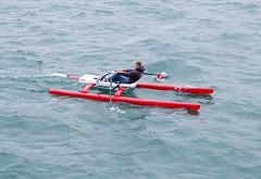 ROCAT at speed at sea (cristofa) Tags: sea rowing rowingboat roughsea openwaterrowing coastalrowing