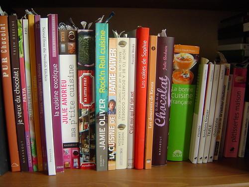 Un petit tour dans ma bibliothèque culinaire