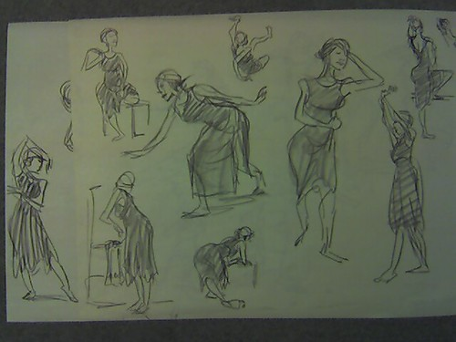 Back to gesture drawing