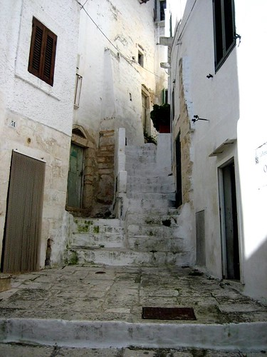 Ostuni's Greek-looking streets