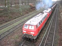 2 diesellocomotives (giedje2200loc) Tags: railroad up train germany ns trains sp duisburg freight bnsf trein spoorwegen csx treinen kcs