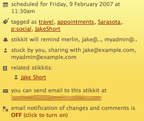 Stikkit Example - Detail 2