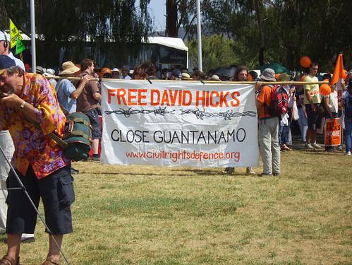 David Hicks banner