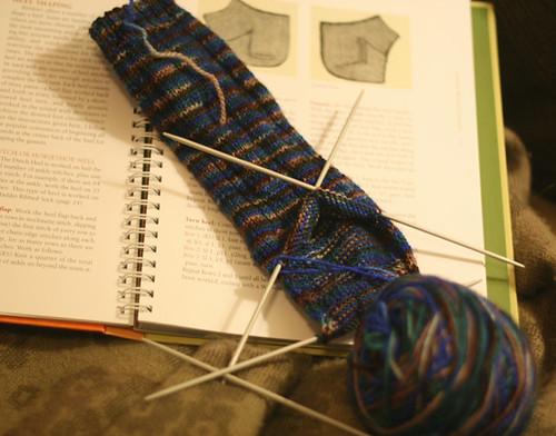 Yarn Pirate sock knitting