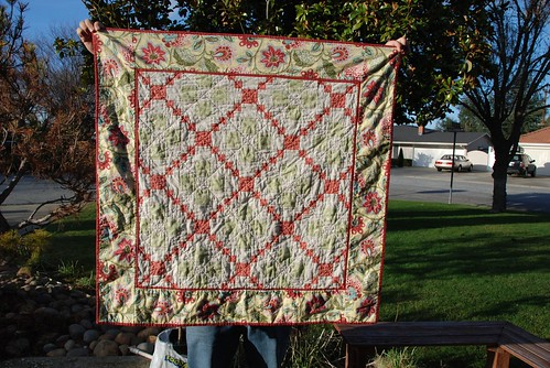 Pink Quilt Front