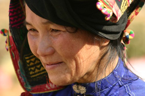 Vietnamese tribal woman...