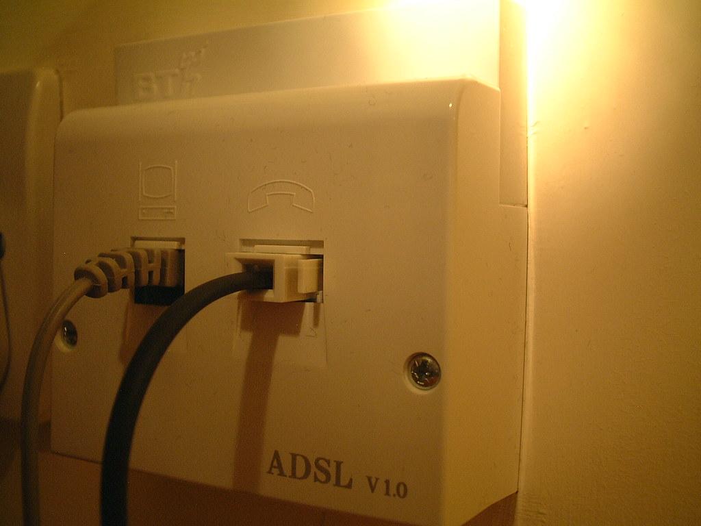 NTE-5 ADSL Faceplate