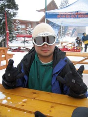 Hey hey! (carisear) Tags: white snow big snowboard bigwhite