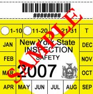1969 New York State Inspection Sticker Simonmurrell5 S Blog