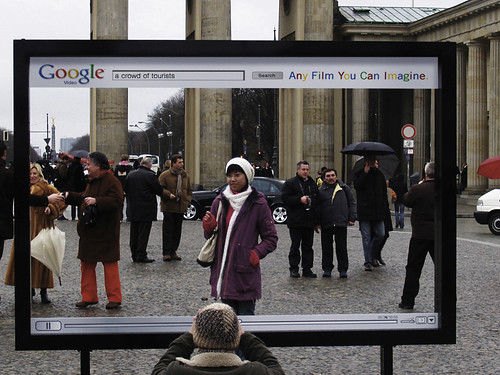 Google Video Brandenburger Tor.