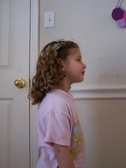 Gabby's 2nd Haircut