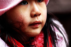 Chinese Girl (noamgalai) Tags: china new city nyc pink portrait people ny newyork girl face photography pig photo chinatown year chinese picture chinesenewyear newyear photograph noam allrightsreserved 2007   pinkhat photomania  chinesegirl noamg 25207 galai noamgalai   pigyear aplusphoto wwwnoamgalaicom
