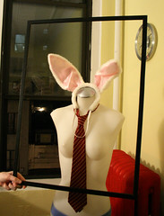 Who framed Mannequin Rabbit?