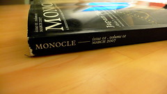 Monocle: Spine (Peter Parkes) Tags: magazine torn spine monocle
