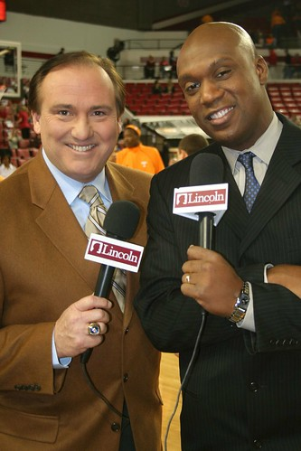 Tim Brando and Barry Booker