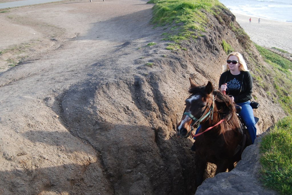Horse riding in Half Moon Bay