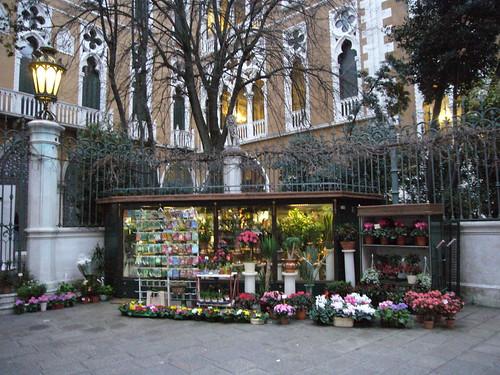 flower shop in venezia by ezioman