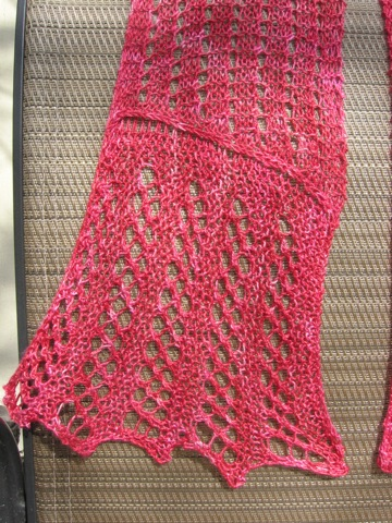 Godmother's Wide Border in Berry Sea Silk