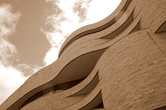 Museum of the American Indian (in Sepia) (melanie.phung) Tags: building museum sepia washingtondc americanindian melaniephung