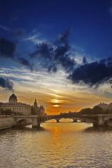 Paris Sunset in DisneyColor