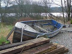Boat by Tearoom at Loch Ard (garlies) Tags: scotland countryside loch ard
