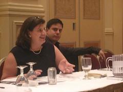 Jennifer McClure runs a smooth board meeting
