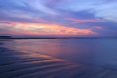 cahaya (Farl) Tags: longexposure travel pink blue light bali beach colors indonesia dawn illumination nusadua geger