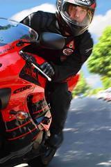 Fast and Furious (Bernie Led) Tags: road red portrait selfportrait motion black blur sports bike sport speed self honda big tripod philippines helmet fast joe suit cc burn jacket 600 motorcycle remote rocket bernie hjc furious 2007 cbr rc1